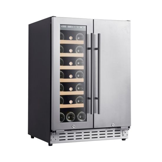 Built-in or Freestanding Wine&Beverage Cooler with Two Zone