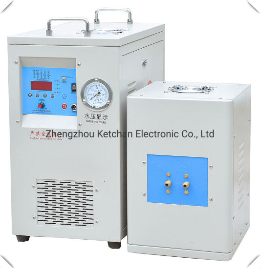 High Frequency Induction Heat Treatment Machine for Metal Hardening Welding Melting Tempering Annealing Forging Preheating