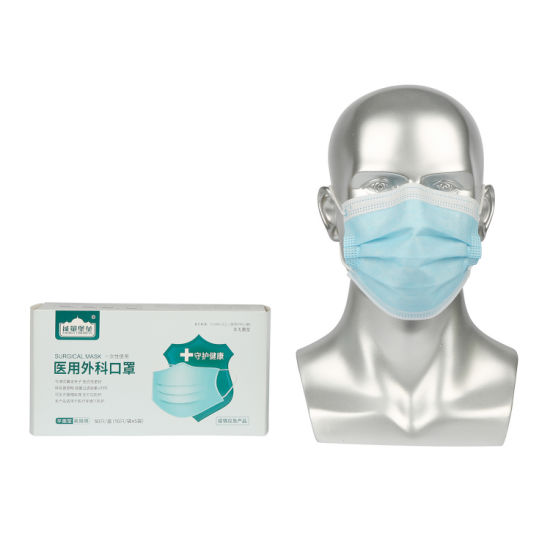 High Quality Outdoor Earloop Protective Safety Product Nonwoven Disposable Protective Type Iir Face Mask for Different Industry