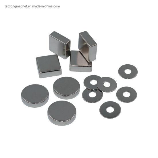 China Supplier N35-N52 Powerful Neodymium Magnet Cubes