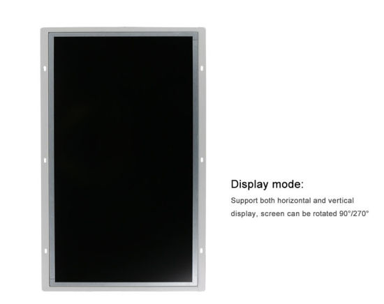 10.1-Inch Touchscreen and Non-Touch Open Frame Monitor TFT LCD Monitor