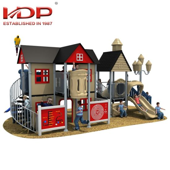 Most Popular Children Plastic Outdoor Playground Slides