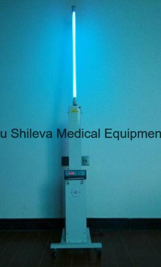 China 30w Uv Lamp Sterilizer Trolley For Room Sterilization With 360