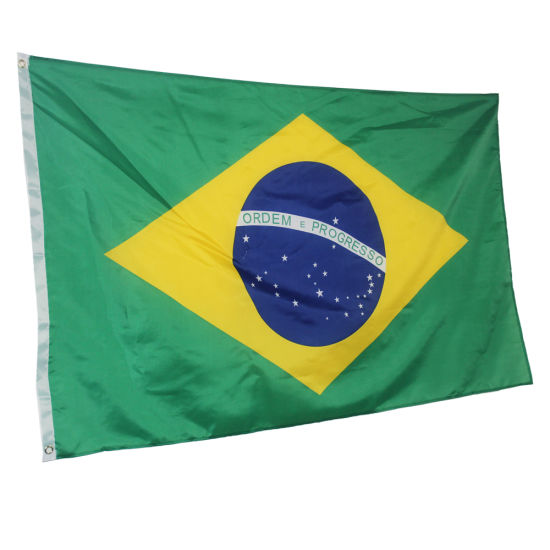 Brazil Brazilian Flag National Flags Home Decoration Brasil Flag Country Banner Indoor Outdoor pictures & photos