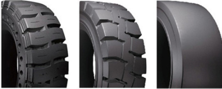 Forklift & Pallet Stacker Tire Solid Press Tyre Made in China with Goo Quality and Price pictures & photos