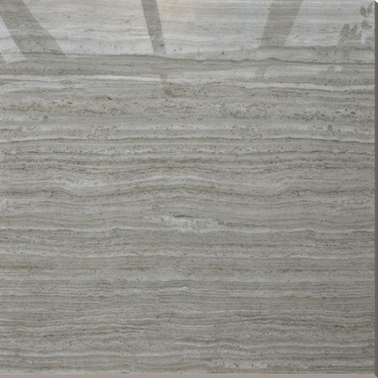 China 800x800 Heat Insulation Grey Wood Grain Kitchen Floor Tiles