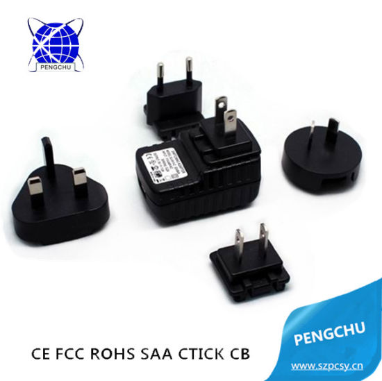 5V 1A 5W Portable AC/DC Travel USB Wall Power Adapter for Mobile Phone