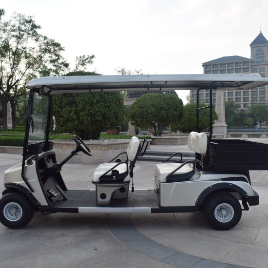 Wholesale Price 4 Seater Golf Trolley with Cargo Box