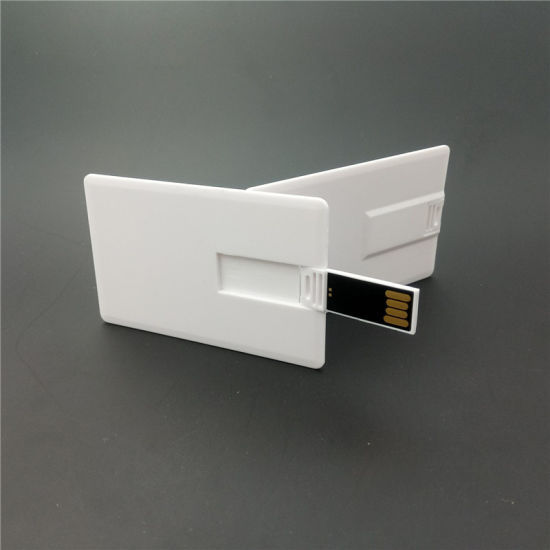 Waterproof Super Slim Credit Card USB Flash Drives Pen Drive Samsung Chip C10 Quality