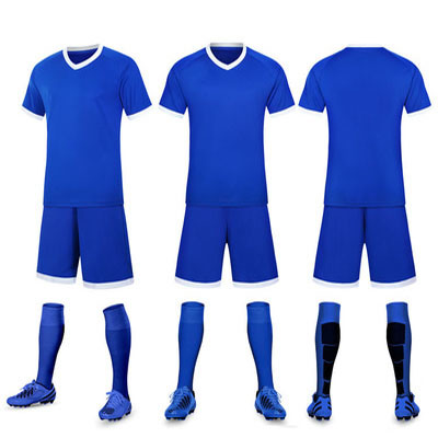 huge discount 9a982 a4c5e Cheap Soccer Jerseys Football Kits 100% Polyester Plain Soccer Kits