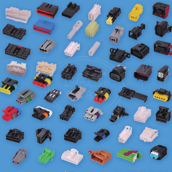 7283-8850-30 6 Pin Automotive Wiring Harness Yazaki Connectors on