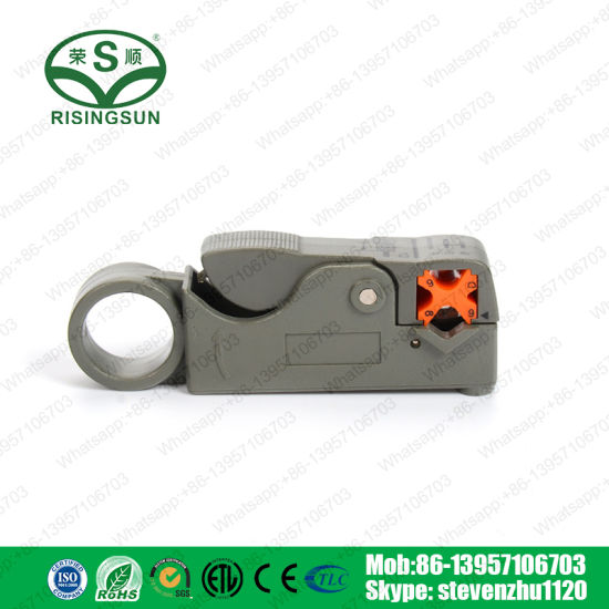 Multi-Function Tool Rg58/RG6/Rg7/Rg11 Coaxial Cable Stripper pictures & photos