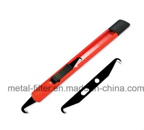 Double Cutting Edge Hook Yarn Cutter Knife Blade