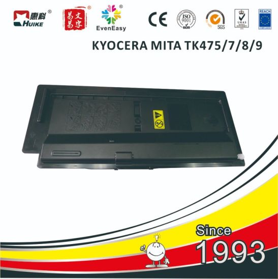 for Kyocera Tk475/Tk476/Tk477/Tk478/Tk479 Compatible Japan Toner Cartridge for Copier Fs-6525/6530/6025/306/256
