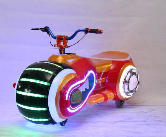 Kiddie Rides Coin Operated Amusement Electric Motorcycle for Sale