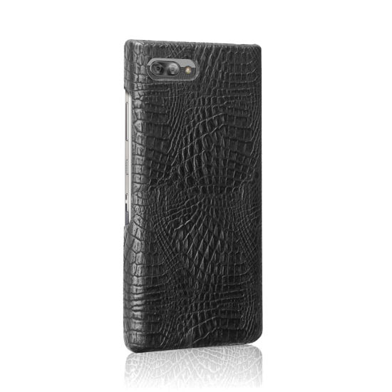 Luxury Matte Crocodile Slim Wallet Leather Cover Case for Blackberry Key 2 pictures & photos