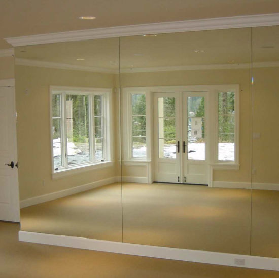 Clear Mirror Glass Sheet China Supplier