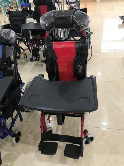 Rehabilitation Therapy Supplies Handicapped Cerebral Palsy Baby Kids Wheelchair