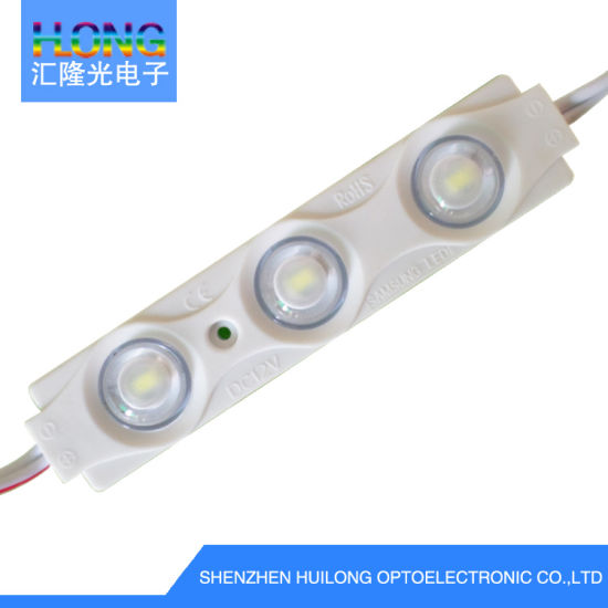 out Door Display 1.5W LED Injection Module Waterphoof Cold White 3LEDs LED Light