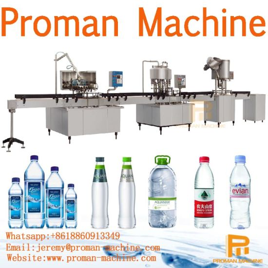 Small Scale Price High Quality Machinery and Equipment for Drinking Water Bottling Production Line pictures & photos