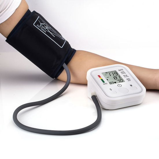 Fully Arm Style Home Care Electronic Blood Pressure Monitor