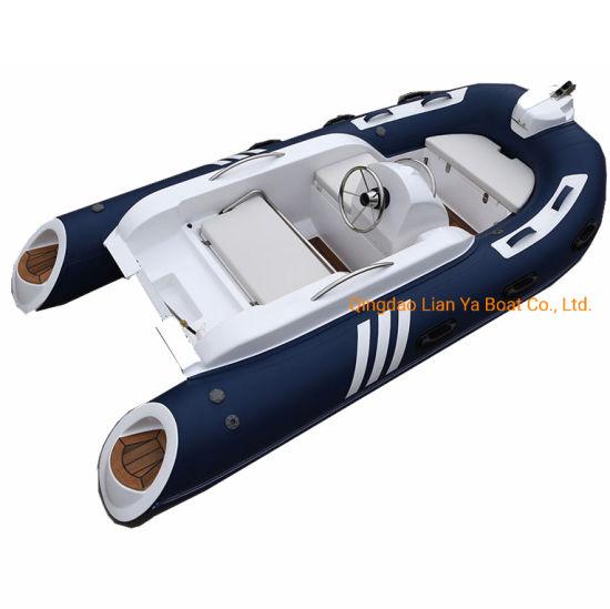 Liya 11feet Marine Yacht High Speed Inflatable FRP Boat
