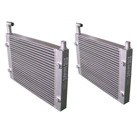 1614918900 Aluminum Air Cooled Heat Exchanges Screw Compressor Air Cooler