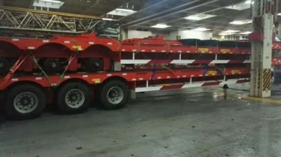 Sinotruck Low Bed Semi Trailer pictures & photos
