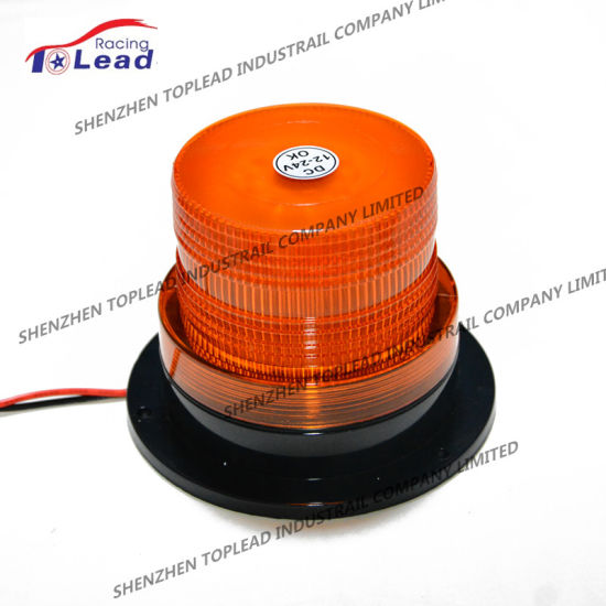 Car Truck Warning Flash Light Beacon Strobe Emergency LED Magnetic Lamp 12-80V