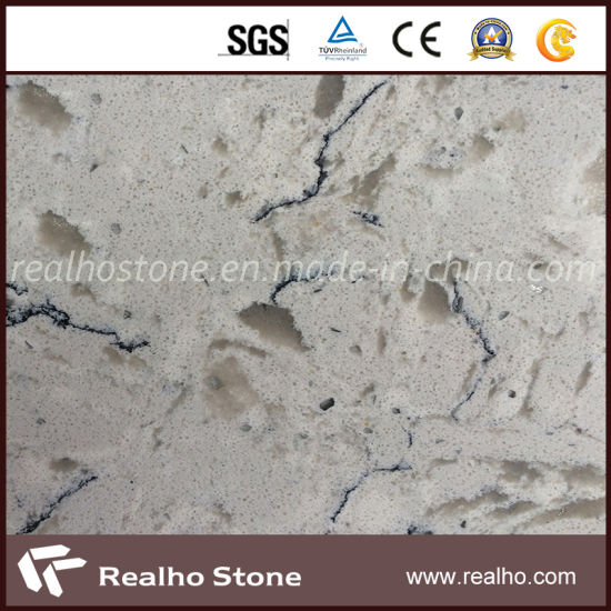 Polished Artificial Luxury Quality Artificial Quartz Stone for Sale