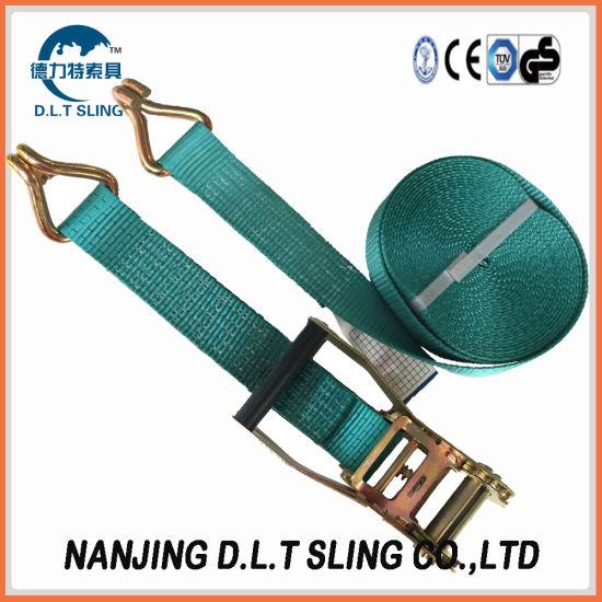 Ratchet Tie Down / Lashing Tow Strap Claw Hook Cargo Lashing