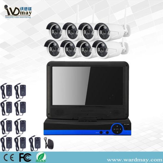 China Wdm 8chs 1 3/2 0MP CCTV Security Home Wireless Camera WiFi NVR