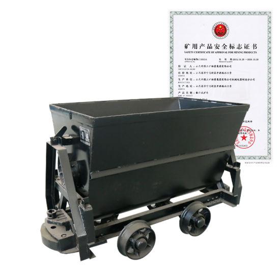 China Factory Direct Sales Kfu Series Bucket-Tipping Mine Car