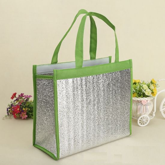 Wholesale Insulated Cooler PP Non Woven Lunch Cooling Bags