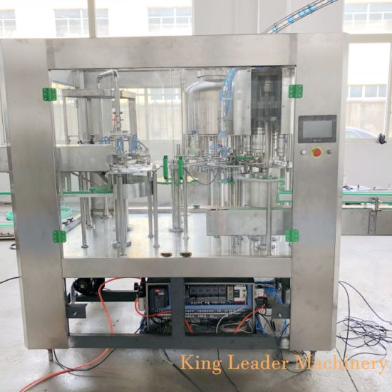 Monoblock Small Pure Mineral Water Bottle Filling Machine / Production Line