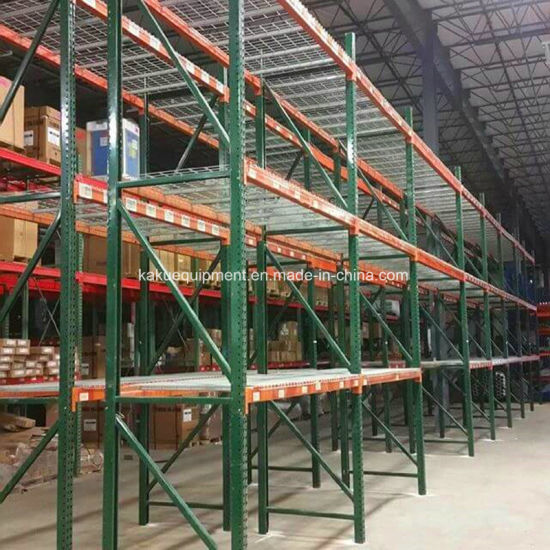 Heavy Duty Warehouse Storage American Teardrop Pallet Shelving pictures & photos