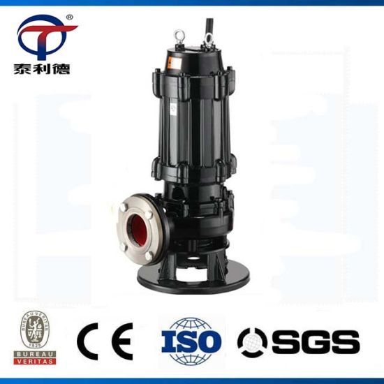 Portable Vertical Non-Clogging Sludge Lift Sewage Drity Water Pump Factory Price