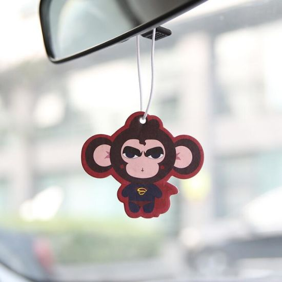 Customized Logo Printing Paper Car Air Freshener Hanging Car Perfume pictures & photos