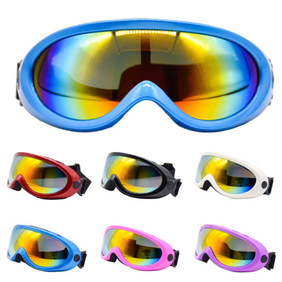 Motorcycle Sports Goggles Ski Glasses for Adults & Chirldren