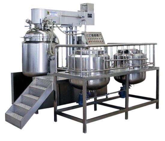 High Speed Homogenizer Vacuum Cream Emulsifier Mixer Machine/Pharmaceuticale Machinery