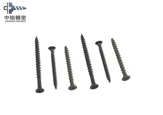 China Fine Thread Bugle Head Drywall Screws with Black Phosphate