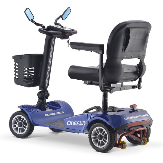 2019 New Coming 6-8h Charging Time Electric Mobiity Scooter with Thick Seat for Disabled