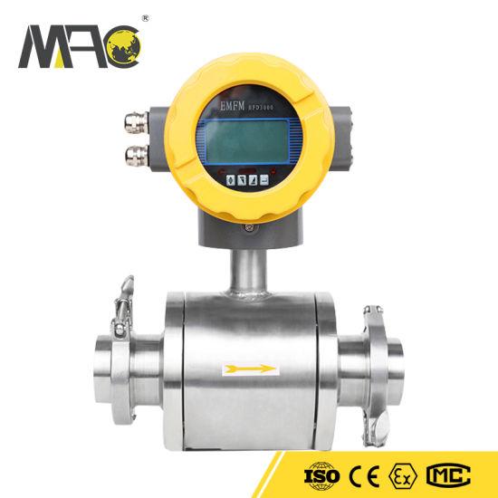Sanitary Waste Flowmeter Lime Water Flowmeter Water Conservancy Flowmeter