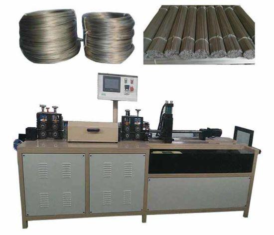 2-8mm Diameter High Speed Metallic Wire Straightening and Cutting Machine