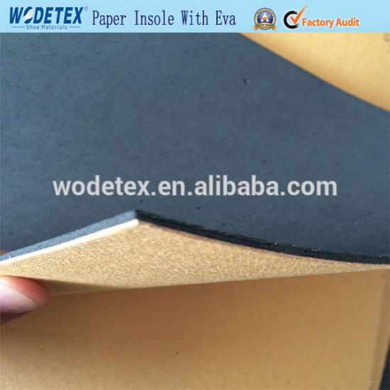 High Quality Hard Paper Insole Board with EVA for Shoe Insole pictures & photos