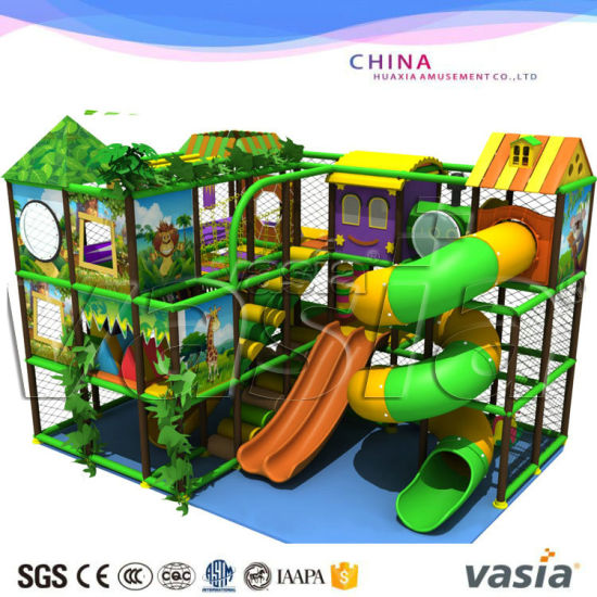 Kids&Children Indoor&Outdoor Playground Amusement Park with Big Trampoline Equipment