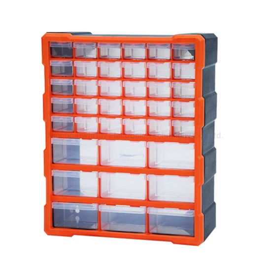 Red Akro-Mils 9912 12-Inch ProBox Plastic Tool Box