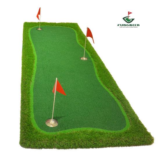 Brand-New Leisure Relaxing Practice of Golf Putter Green Mat