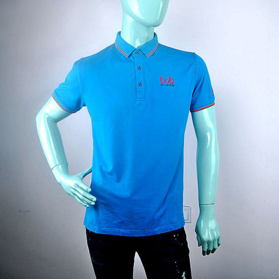 Polo T Shirt, 95% Cotton 5% Mens Clothing High Quality Custom Logo