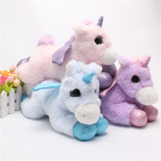 Hot Sale Soft Unicorn Horse Animal Plush Stuffed Toy pictures & photos